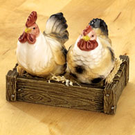 Rooster & Chicken Salt & Pepper Shakers