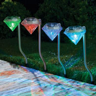 Diamond Solar Path Lights