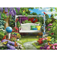 Nature Sings To Me III 300 Large Piece Jigsaw Puzzle