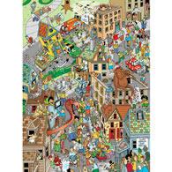 Twisted Treasure Hunt 300 Large Piece Jigsaw Puzzle