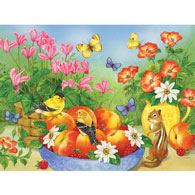 Just Peachy 500 Piece Jigsaw Puzzle