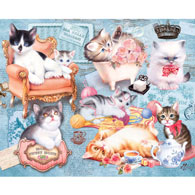 Home Kittens 200 Large Piece Jigsaw Puzzle
