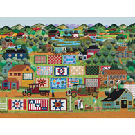 Quilts For Sale 300 Large Piece Jigsaw Puzzle