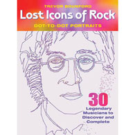 Lost Icons of Rock Dot-To-Dot Book
