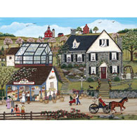 Stone House Garden 300 Large Piece Jigsaw Puzzle