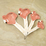 Tropical Flamingo Measuring Spoons