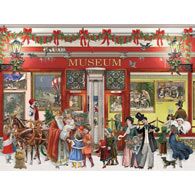 Christmas Museum 300 Large Piece Jigsaw Puzzle