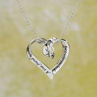 Sterling True Friend Necklace