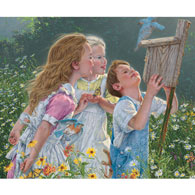 The Peeping Toms 300 Large Piece Jigsaw Puzzle