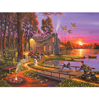 An Early Surprise 1500 Piece Giant Jigsaw Puzzle