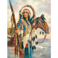 The Last Chief 500 Piece Jigsaw Puzzle