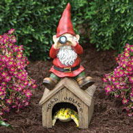Garden Gnome Toad House Garden Sculpture