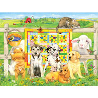 Quilting Club 500 Piece Jigsaw Puzzle