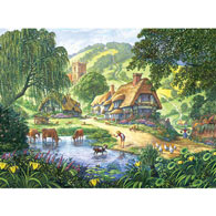 The Old Pond 1000 Piece Jigsaw Puzzle