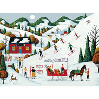 Ski Day 500 Piece Jigsaw Puzzle