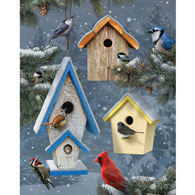 Winter Song 500 Piece Jigsaw Puzzle