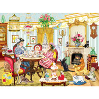 High Tea With Mum 500 Piece Jigsaw Puzzle