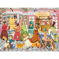 Spring Fashions From Paris 500 Piece Jigsaw Puzzle