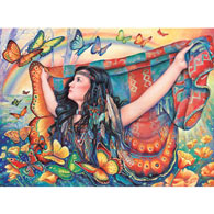 Butterfly Blanket 1000 Piece Jigsaw Puzzle