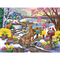 Spring Special Delivery 500 Piece Jigsaw Puzzle