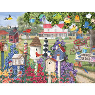 Birdhouses For Sale 500 Piece Jigsaw Puzzle