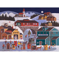 Marge's Ice Fishing 500 Piece Jigsaw Puzzle