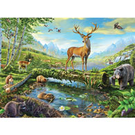 Wildlife Splendor 500 Piece Jigsaw Puzzle