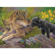 Unconditional Love 500 Piece Jigsaw Puzzle