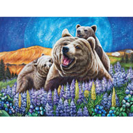 Blueberry Bears 500 Piece Jigsaw Puzzle