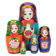 Taralynn's Tea Time™ Nesting Dolls