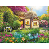 Garden Cottage 500 Piece Jigsaw Puzzle
