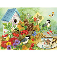 Woodland Bounty  500 Piece Jigsaw Puzzle