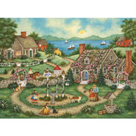 For The Birds 300 Large Piece Jigsaw Puzzle