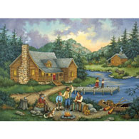 Fish Tales 1000 Piece Jigsaw Puzzle