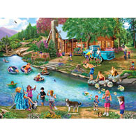 Summer Outing 500 Piece Jigsaw Puzzle