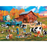 Autumn Sundown 1000 Piece Jigsaw Puzzle