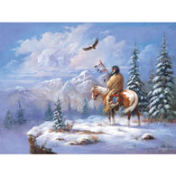 Winter Warrior 300 Large Piece Jigsaw Puzzle