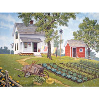Kitchen Garden 500 Piece Jigsaw Puzzle