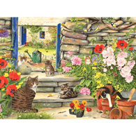 Stepping Out 300 Large Piece Jigsaw Puzzle