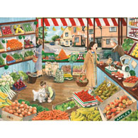Green Grocers 300 Large Piece Jigsaw Puzzle