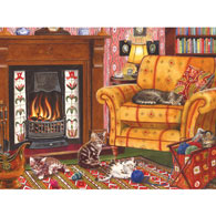Cozy Cats 300 Large Piece Jigsaw Puzzle