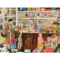 Sweet Shop 300 Large Piece Jigsaw Puzzle