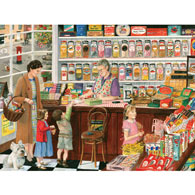 Sweet Shop 500 Piece Jigsaw Puzzle