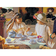 Teatime Table 300 Large Piece Jigsaw Puzzle