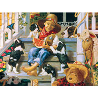 Roundup 500 Piece Jigsaw Puzzle