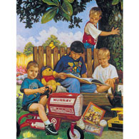 The Boys Of Summer 500 Piece Jigsaw Puzzle