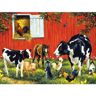 Old MacDonald's Farm 300 Large Piece Jigsaw Puzzle