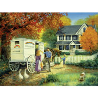 Rainbow Dairy Farm 500 Piece Jigsaw Puzzle