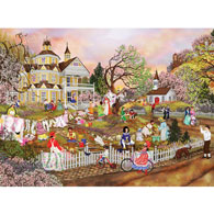 Spring Wash 300 Large Piece Jigsaw Puzzle