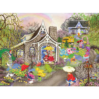 Rainbow Showers 1000 Piece Jigsaw Puzzle